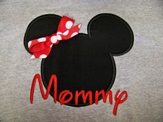 Mom or Dad Disney Mickey Mouse Head Shirt for Adults Clothing Clothes Personalized with mom or Name T Shirt. $22.99, via Etsy.
