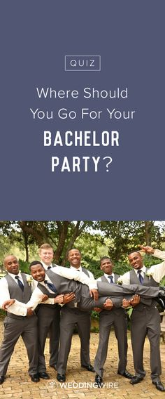 Where Should You Go For Your Bachelor Party? Explore the most popular bachelor party destinations on @weddingwire! {Thirteenth Moon Photography LLC}