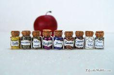 Einmal Miniatur Flaschen Zeichen Magie 9 von LifeistheBubbles