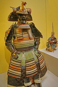 Boy's armor modeled after the Kamakura period made for the male heir of a daimyō family for his coming of age ceremony century CE Japan.