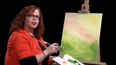 Lucy's Big Beautiful World of Painting, One Stroke Inspired Flowers - YouTube