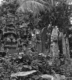 South Nias, Indonesia Rock Formations, Borneo, Pho, Island, Black And White, Stone, People, Painting, Rock