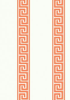 ANDREAS STRIPE, Coral, T14243, Collection Imperial Garden from Thibaut