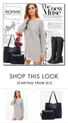 """""""ROMWE 9"""" by woman-1979 ❤ liked on Polyvore"""