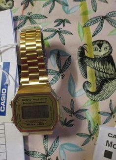 Kup mój przedmiot na #vintedpl http://www.vinted.pl/odziez-meska/zegarki/16252157-zegarek-casio-zloty-retro-vintage