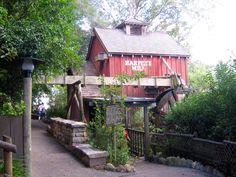 Harper's Mill, Tom Sawyer Island, Frontierland