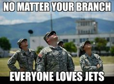 Everyone loves jets! #aviationhumor #militaryhumor #ilovethesmellofjetfuelinthemorning #everyonelovesjets #loveofaviation #flyingisahabit