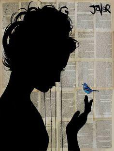 "Saatchi Art Artist: Loui Jover; 2014 ""le petit visiteur"""
