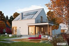 projekt domu ARCHIPELAG Mini 2 G1 ENERGO PLUS Home Fashion, Home Interior Design, Cabin, Mansions, House Styles, Mini, Outdoor Decor, Home Decor, Ideas