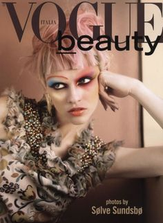 Italian Vogue.  Make-up by Val Garland.  Photography by Solve Sundsbo.