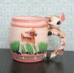 'Always Drink Milk' mug