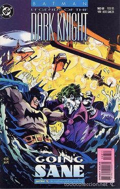 LEGENDS OF THE DARK KNIGHT #68, DC COMICS, 1.995, USA.