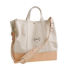 Steele Canvas Basket Co. for J.Crew Coal Bag