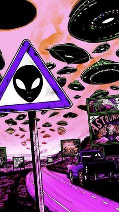 RUT — trippy alien/s Art Alien, Trippy Alien, Alien Aesthetic, Aesthetic Art, Aesthetic Memes, Trippy Wallpaper, Cartoon Wallpaper, Alien Iphone Wallpaper, Hippie Wallpaper