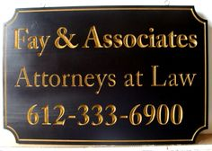 30 Best LAWYER WOOD SIGN images in 2019 | Signs, Wood Signs, Office
