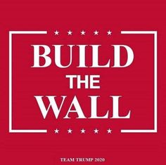 It's time to protect our border. It is not immoral. Trump Is My President, John Trump, Donald Trump, Trump Wall, Greatest Presidents, Trump Train, Conservative Politics, God Bless America, True Quotes
