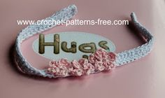 Free Crochet Patterns and Designs by LisaAuch: How to Crochet Baby Headbands | Crochet Baby Headband | Free crochet Patterns