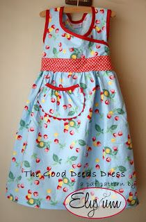 Night Owl's Menagerie: The Good Deeds Dress - A Gift To You To Give