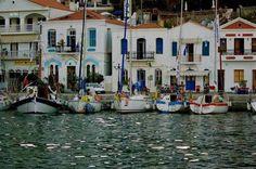 ΙΚΑΡΙΑ ΕΥΔΗΛΟΣ Greece Travel, Greek Islands, Santorini, Mansions, House Styles, Image, Greek Isles, Manor Houses, Villas