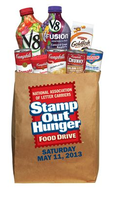 Stamp Out Hunger Food Drive! #Valpak Cares