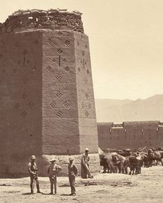 Butkhak, Afghanistan (detail), John Burke ±1879