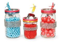 David Tutera™ Whimsy Carnival #Wedding Decorated Candy Jars & Scoops