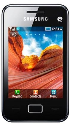 Samsung Tocco Lite 2 S5220 Smart Mobile Phone on Vodafone Pay as you go / Pre-Pay / PAYG – Black