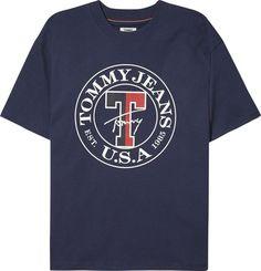 6e78794f Tommy Jeans T-Shirts »TJW BOYFRIEND STAMP LOGO TEE« für 49,90€.  Rundhalsausschnitt, Kragen aus Rippstrick, Ausschnitt mit aufgesetzten  Tommy-Streifen bei ...