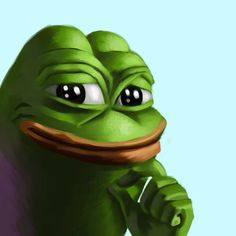 A hand crafted rare pepe.