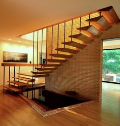 tread profiles!!! Howard Meyer - the Nakoma Residence, built in 1951 for Mr. and Mrs. Ben Liphsy in Dallas, Texas.