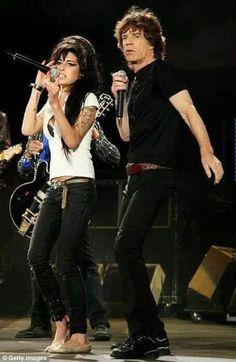Amy Winehouse, Mick Jagger, Pop Rock, Rock N Roll, Music Love, Music Is Life, Rolling Stones, Jazz, Rock Legends