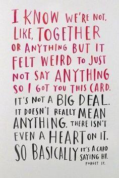 Valentinstag. Oder so.