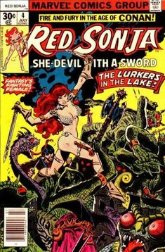 Red Sonja #4 - The Lake Of The Unknown (Issue)