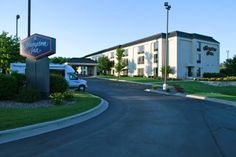 Hampton Inn Milwaukee Airport (1200 West College Avenue) Less than 3 km from the main terminal at General Mitchell International Airport, this hotel in Milwaukee, Wisconsin provides comfortable amenities and convenient services in a great location. #bestworldhotels #travel #us #milwaukee