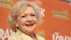Betty White is alive, acting and already booked for her 100th birthday http://cnn.it/1qretmS pic.twitter.com/eUDO6tCxU9 What a beaytirul and amazing lady!!