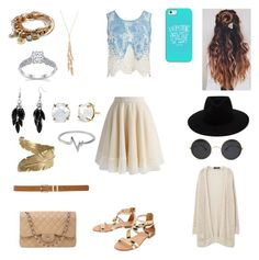 """Untitled #65"" by renee-thomason on Polyvore featuring Sans Souci, Chicwish, rag & bone, Lizzy James, Forever 21, Casetify, Cocobelle, Alexa Starr, Chanel and Irene Neuwirth"