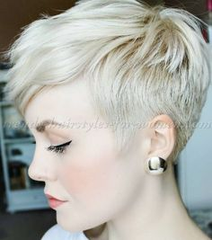 pixie cut for blonde hair                                                                                                                                                                                 More