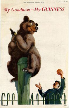 Guinness-bear-1944 by jbrookston, via Flickr