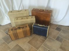Antique Suitcases -