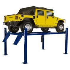 The BendPak HD-9 9,000-lb. car lift is one of the hottest automotive hoists on the market today. JMC Equipment, authorized BendPak dealer, lays out the clear