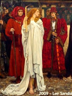 The Penance of Eleanor  by Edwin Austin Abbey