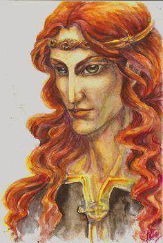Russandol portrait by Righon.deviantart.com on @deviantART