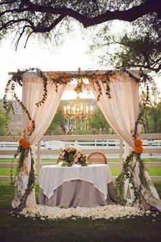 120 Adorable Sweetheart Table Decor Ideas   HappyWedd.com