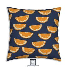 Summer Citrus. Mocked up on @roosteryhome throw pillows. All 5 colorways are available in my @spoonflower shop. Link in profile. #fabric #wallpaper #giftwrap #spoonflower #spoonflowered #roosteryhome #homedecor #throwpillows #sewing #lemons #orange #lime #citrus #lemonade #orangejuice
