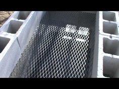 Cinder block smoker Pt. I - YouTube