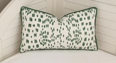 Brunschwig and Fils Les Touches Green Animal Print on Both
