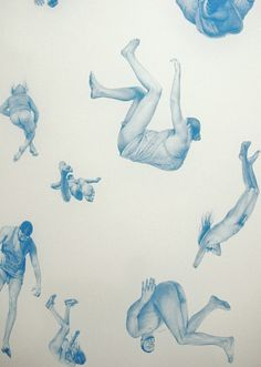 "Zachari Logan ""Go To Hell"", graphite on paper"