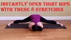 Tight hips seem to be a common problem for almost everybody — from runners to cyclists, from deskbound bloggers to dancers. Give this area a little extra love with this sequence of eight hip-opening stretches to increase your flexibility, reduce discomfort, and prevent injury. Try the series in the order listed here, or pick your favorites to incorporate into your workout routine.