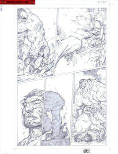 Kwan Chang :: For Sale Artwork :: Savage Wolverine # 7 by artist Joe Madureira
