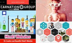 50 Creative Html5 Websites Design examples from Top Designers. Read full article: http://webneel.com/html5-websites | more http://webneel.com/website-design | Follow us www.pinterest.com/webneel